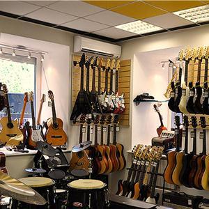 Музыкальные магазины Инзера